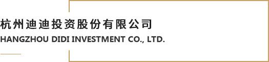 杭州迪迪投資股份有限公司