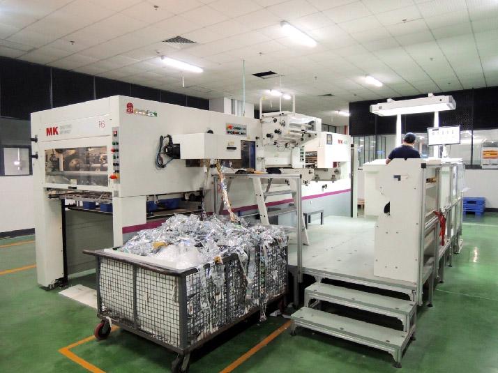 天津長榮MK1060ST全自動定位燙金機