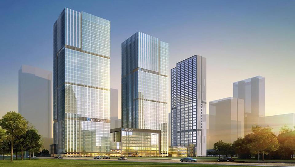 青岛国信金融中心项目