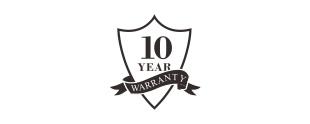10年质保标志