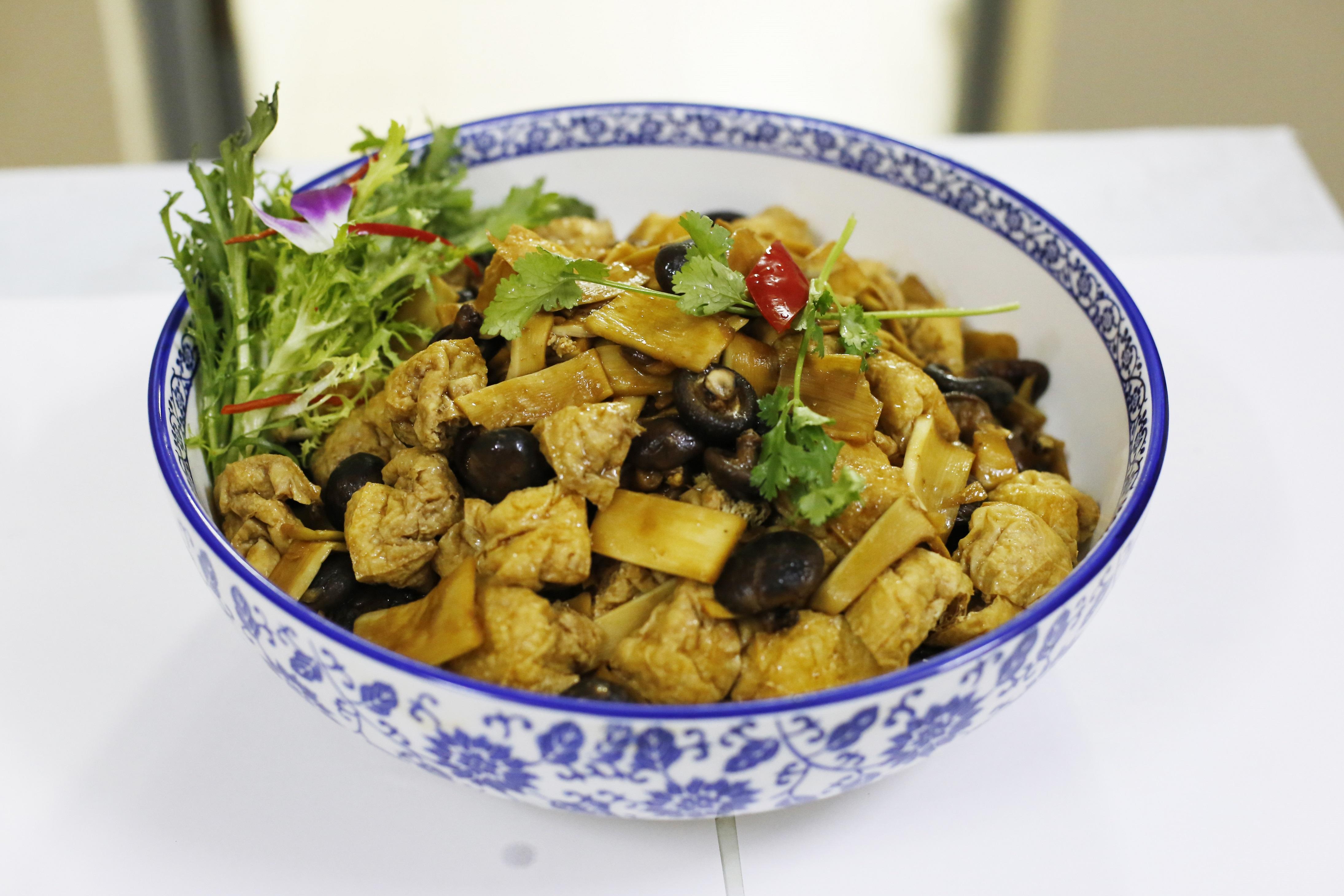 雙冬燒油豆腐
