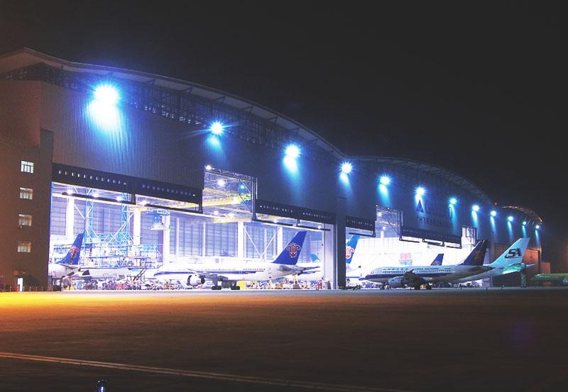 廣州機場機庫