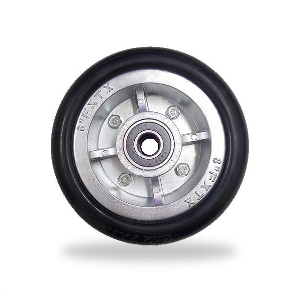 鋁芯高彈力 單輪 6寸