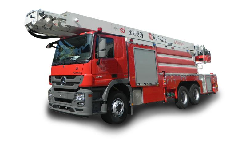 JP42型舉高噴射消防車