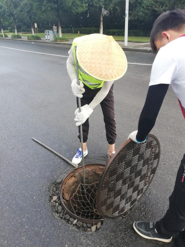 鄞州大道快速路工程地下管線探測