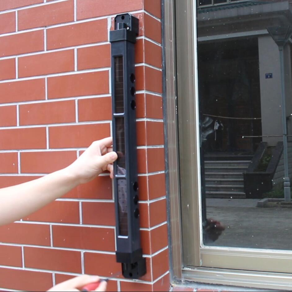 太陽能無線紅外光柵(HB-T001S4)安裝視頻