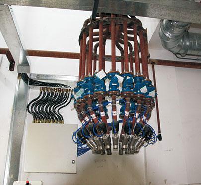 原料分配站控制系統
