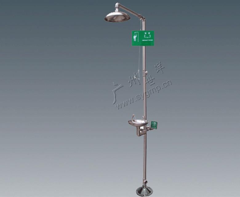 316不銹鋼復合式洗眼器(高亮光)
