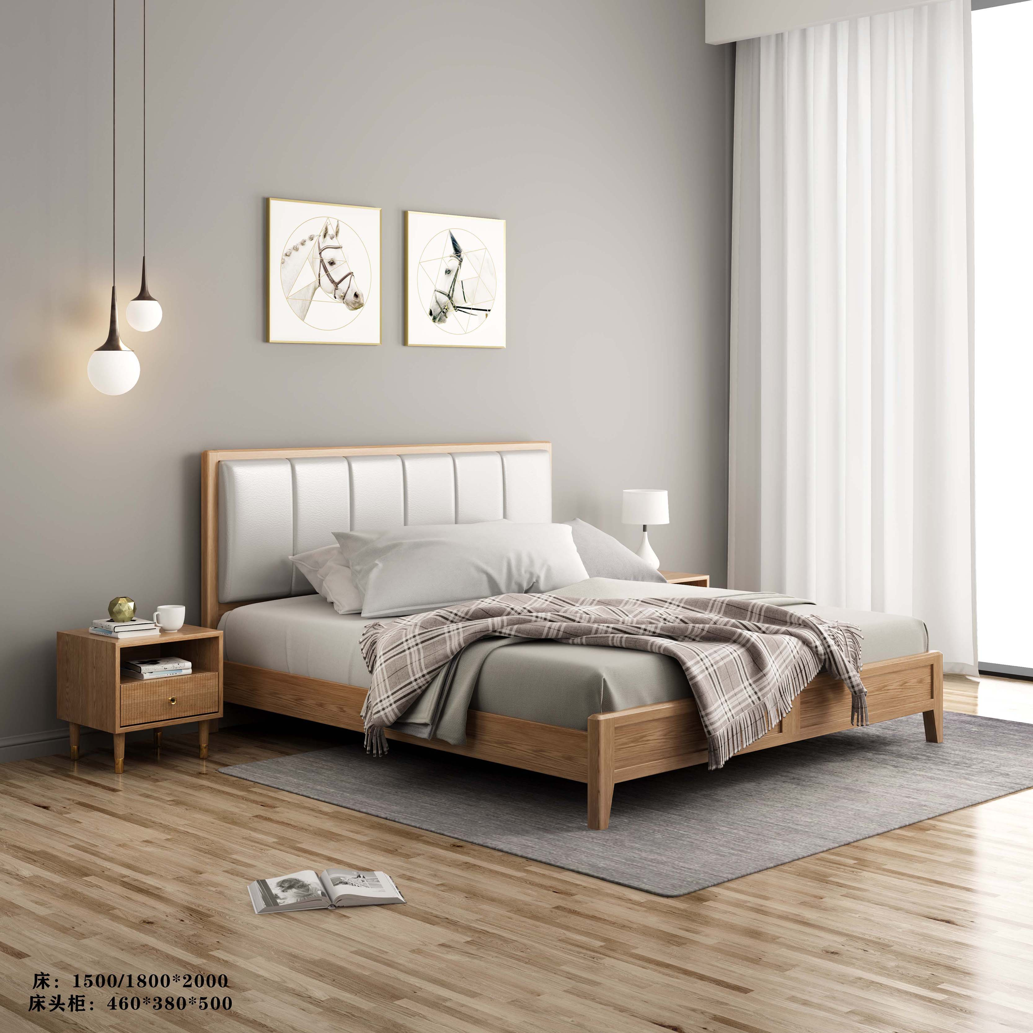 白蜡木诧寂系列---床