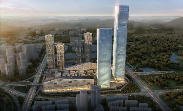 深圳深业上城城市综合体项目