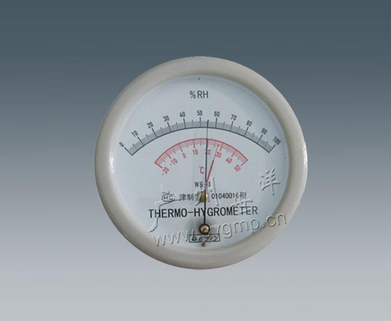 毛發絲溫濕度表