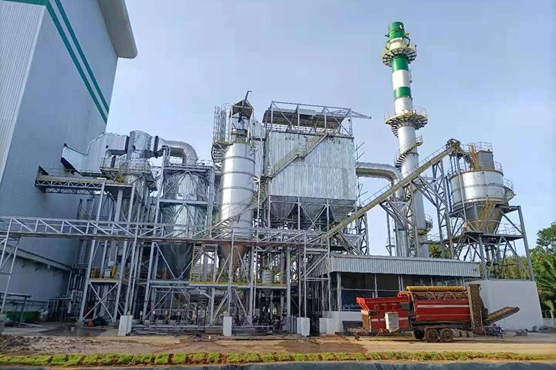 泰國AEC甲米府垃圾焚燒尾氣處理