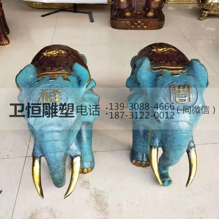铜大象铸造价格
