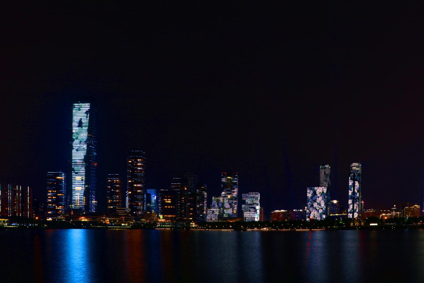 深圳湾广场照明