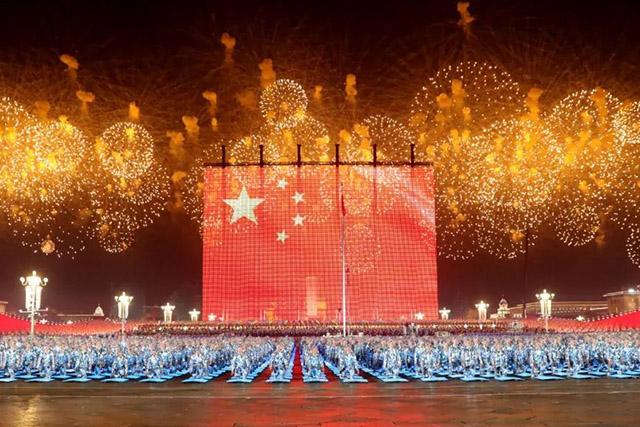 新中国成立50、60、70周年阅兵仪式?