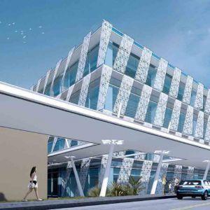 馬爾代夫VIP機場雕花鋁板