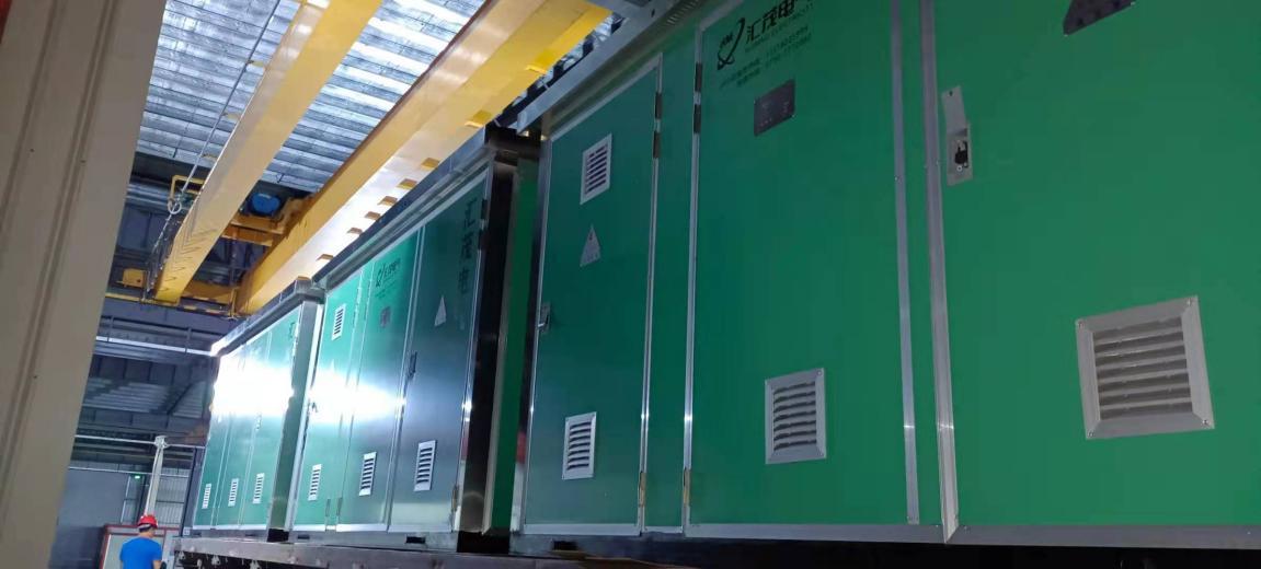 珠海LNG扩建项目二期工程项目施工箱变我司中标