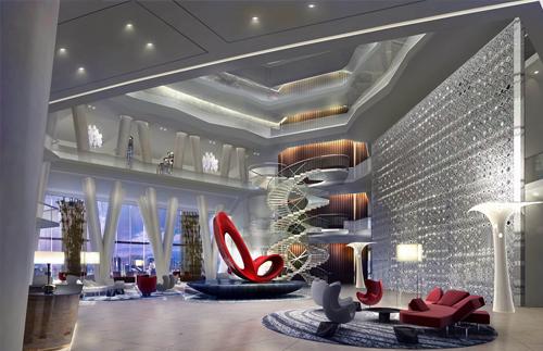 廣州珠江新城西塔(廣州國際金融中心)四季酒店