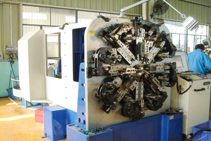 CNC进口异形弹簧全自动成型设备
