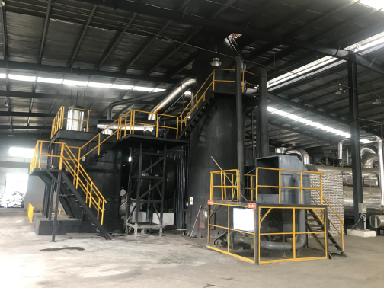 生物質炭化技術