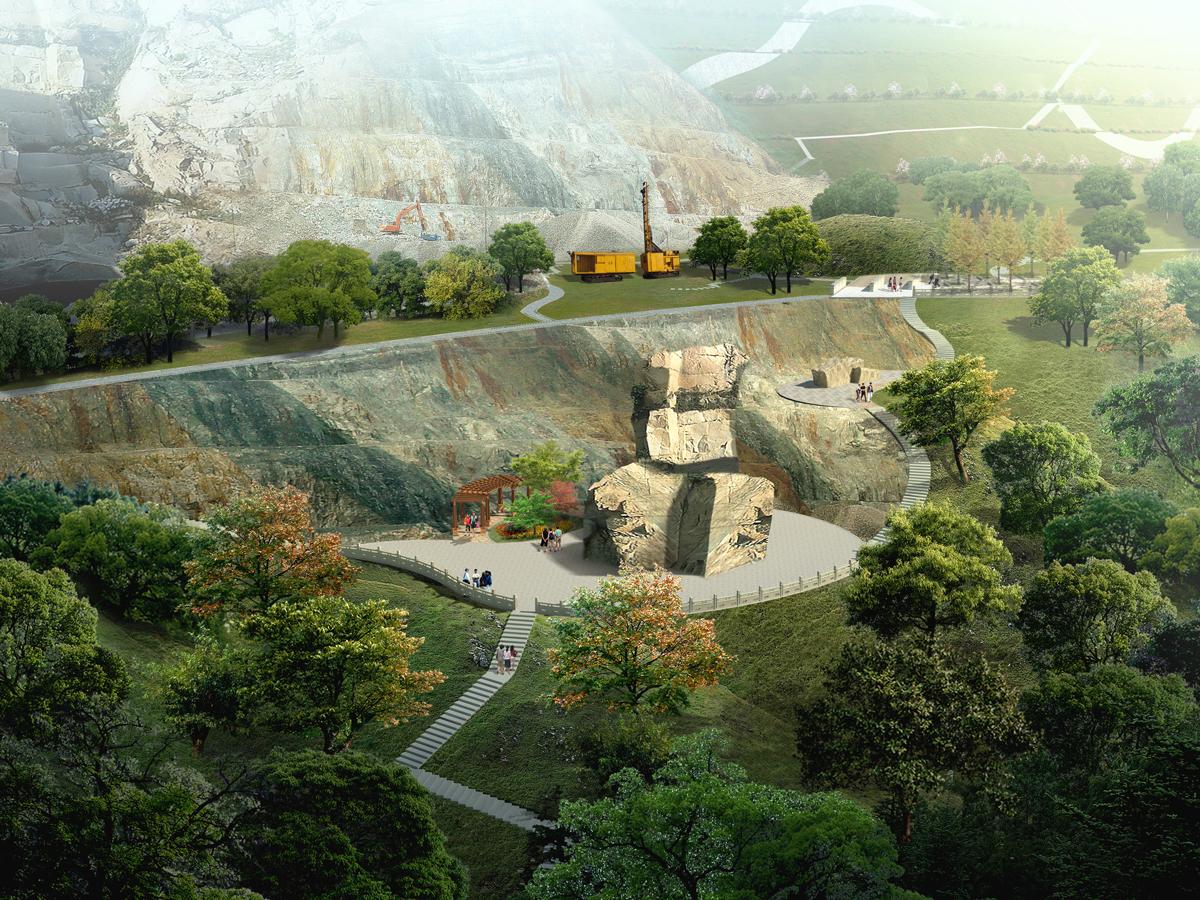 杭州市石龙山南侧废弃矿区地质环境治理