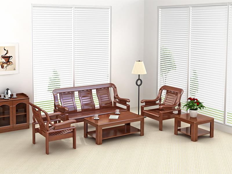 GM9830-1、GM9830-3实木沙发