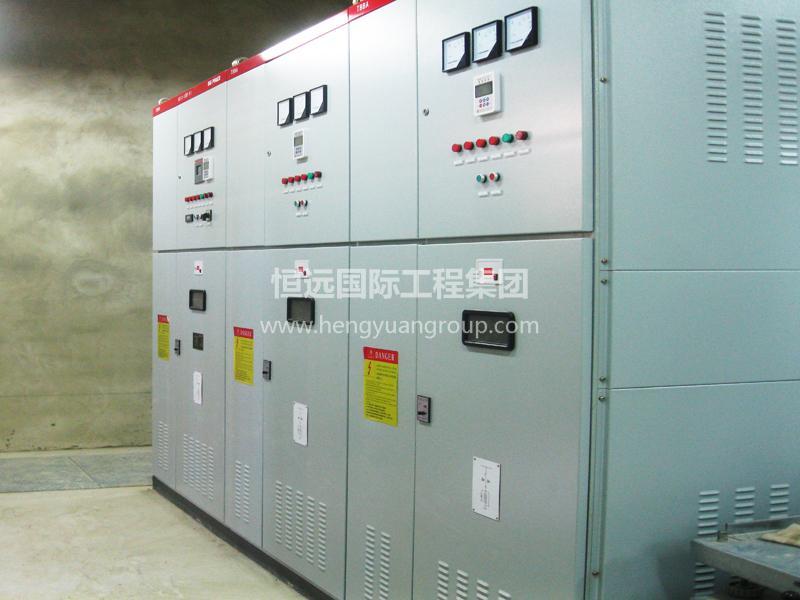 俄羅斯亞洲水泥有限公司 KYN28-12交流金屬鎧裝移開式開關柜