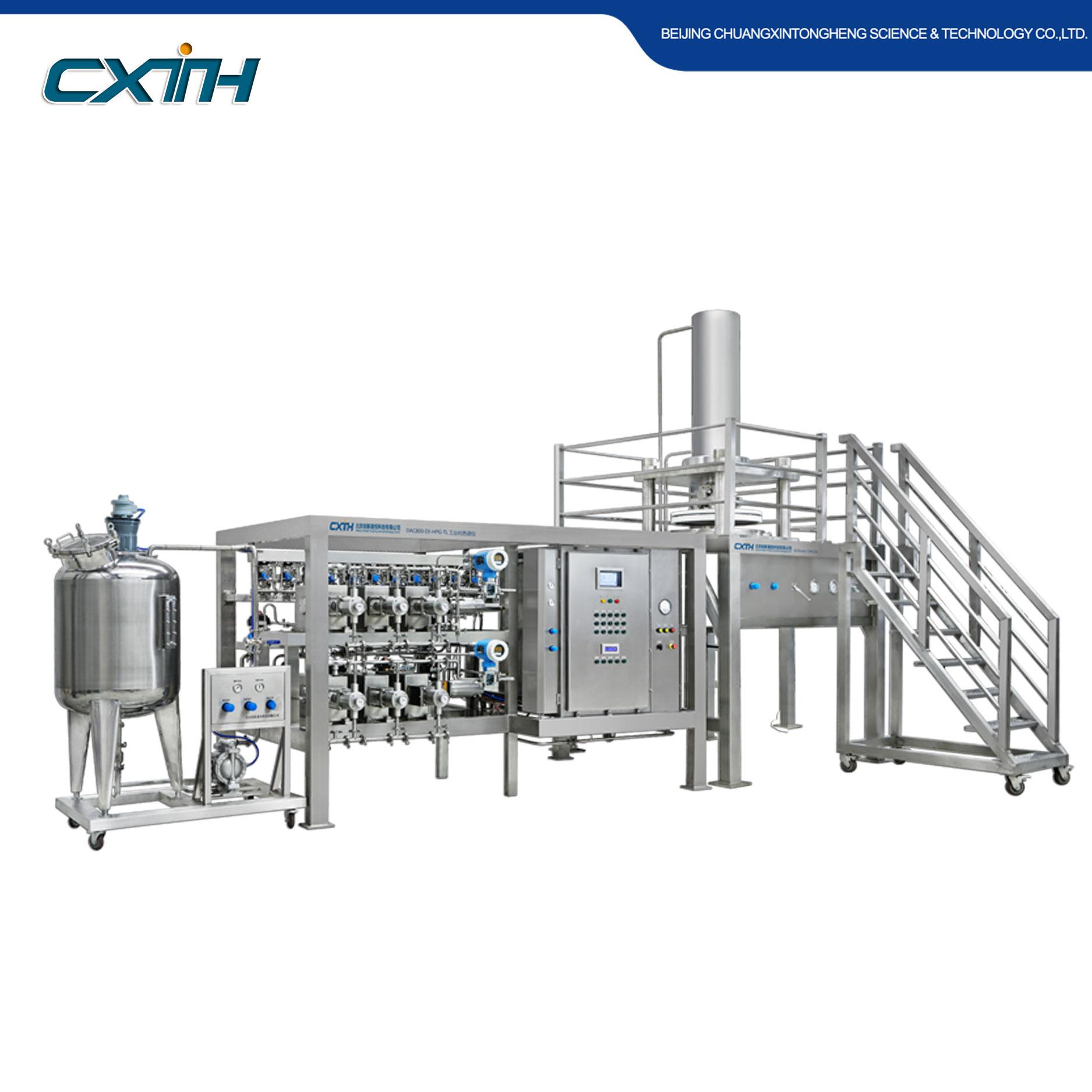 二代工業化制備液相色譜系統