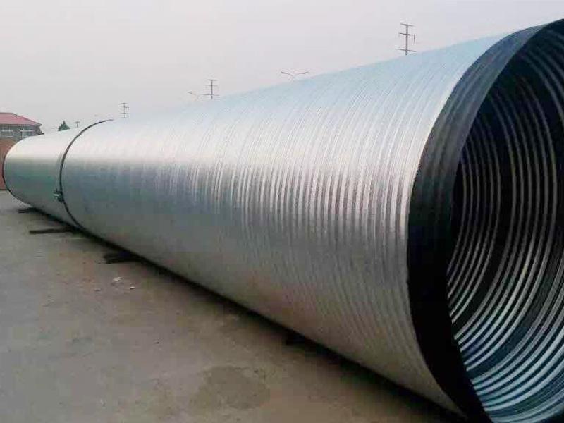 鍍鋅波紋鋼管