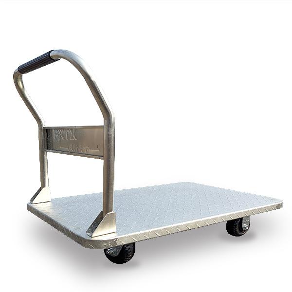 鍍鋅鋼板推車(可拆式扶手)FX-1000
