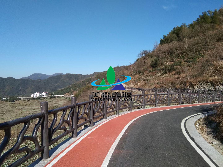 紹興市嶺南鄉梯田游步道安全護欄建設工程