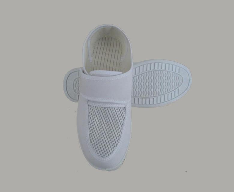 防靜電網眼魔術貼鞋
