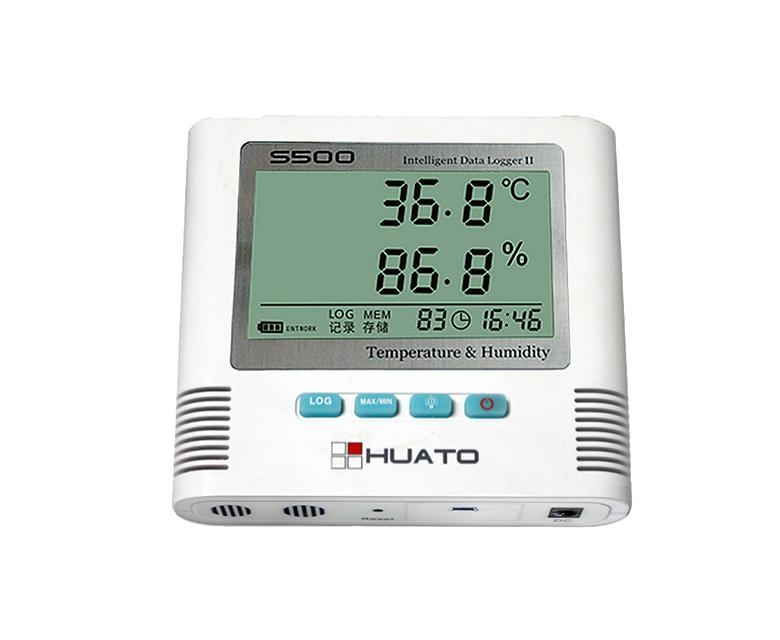 大屏幕溫濕度記錄儀