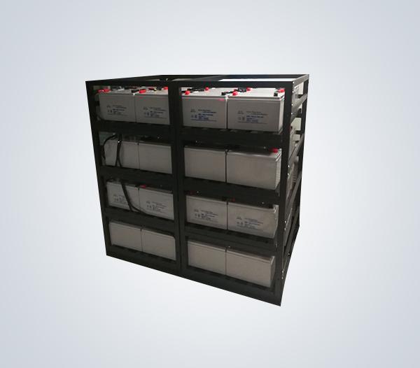 汇利电器 定制100AH,200AH拼装电池架 蓄电池钢架 工厂制造