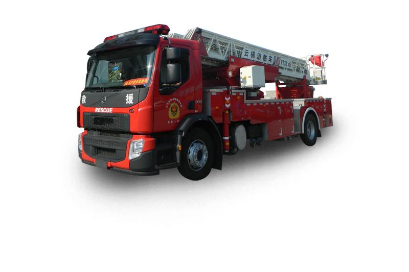YT32型后背式多功能云梯消防車