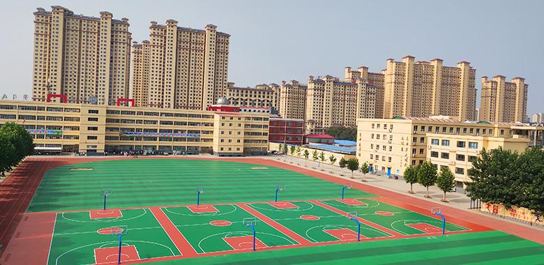 新华中学场地实拍图