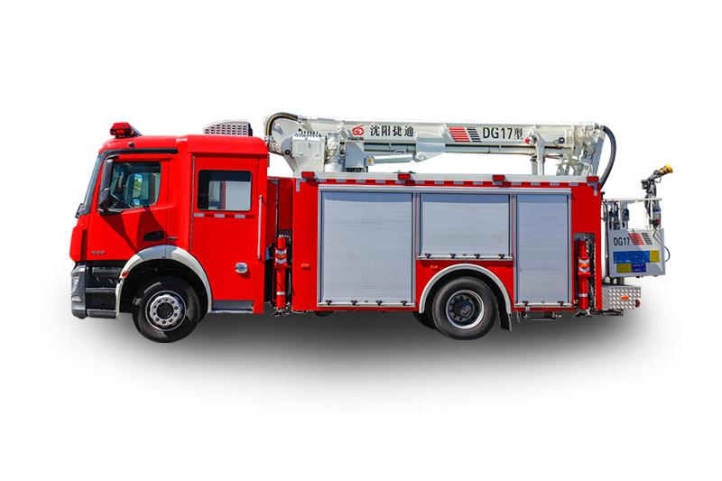 DG17型多功能登高平臺消防車