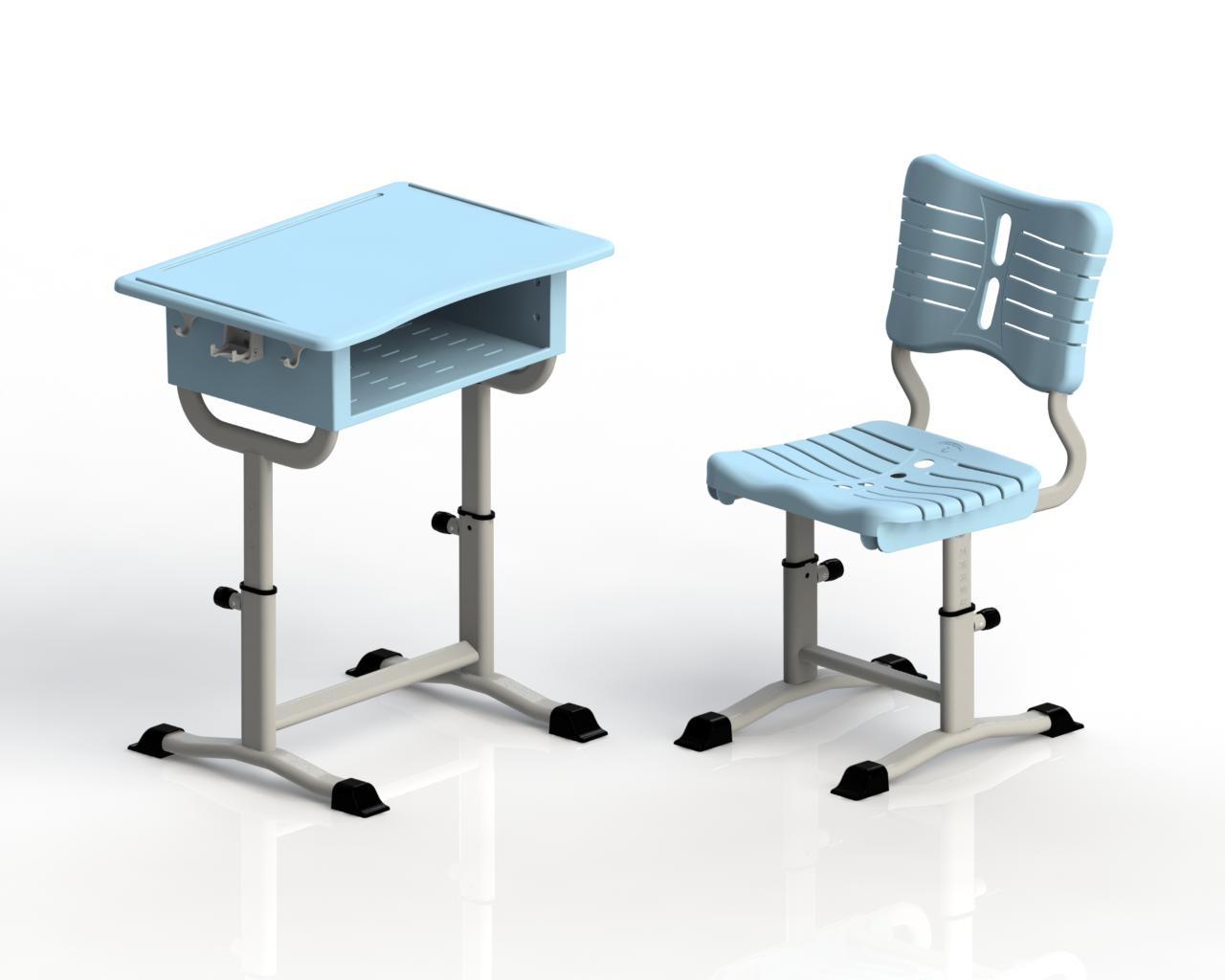 升降课桌椅