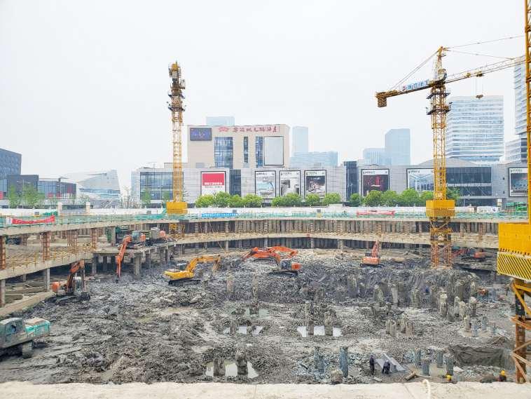 恒大集團寧波城市之光項目基坑監測