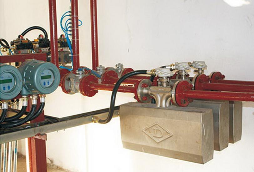管道質量流量計在工程中的應用