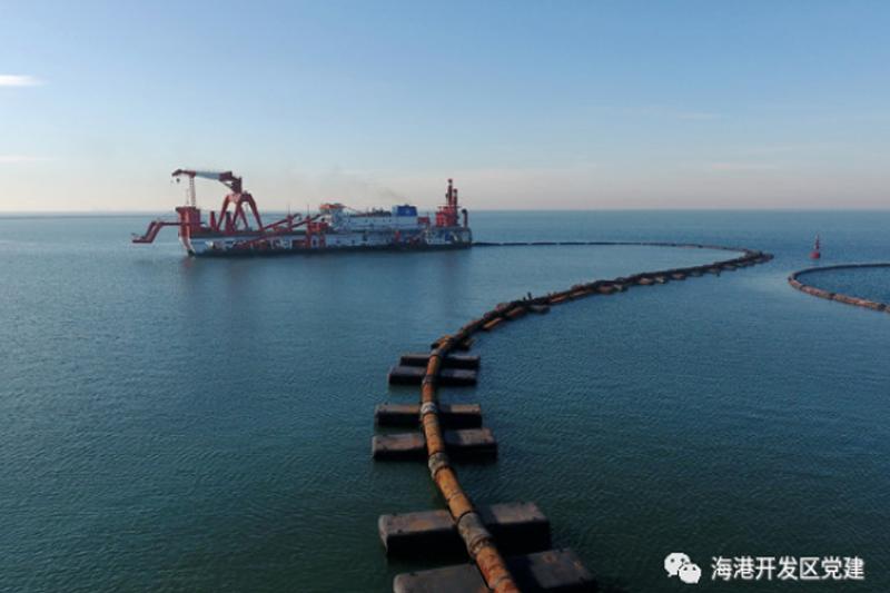 京唐港區25萬噸級航道項目復工!工程計劃年底前完工!