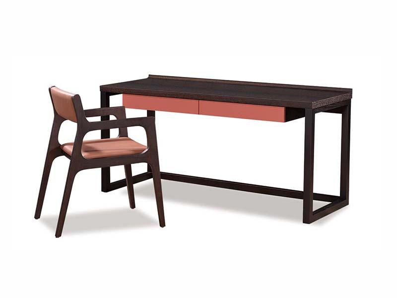 Y501書桌+CY028餐椅