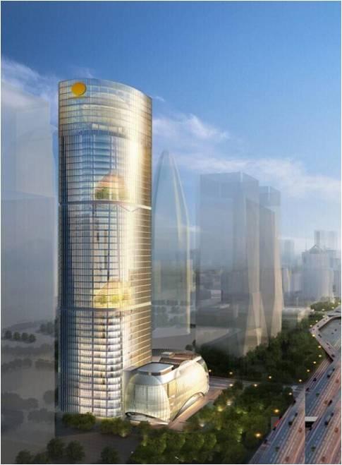 北京陽光保險金融中心(220m)