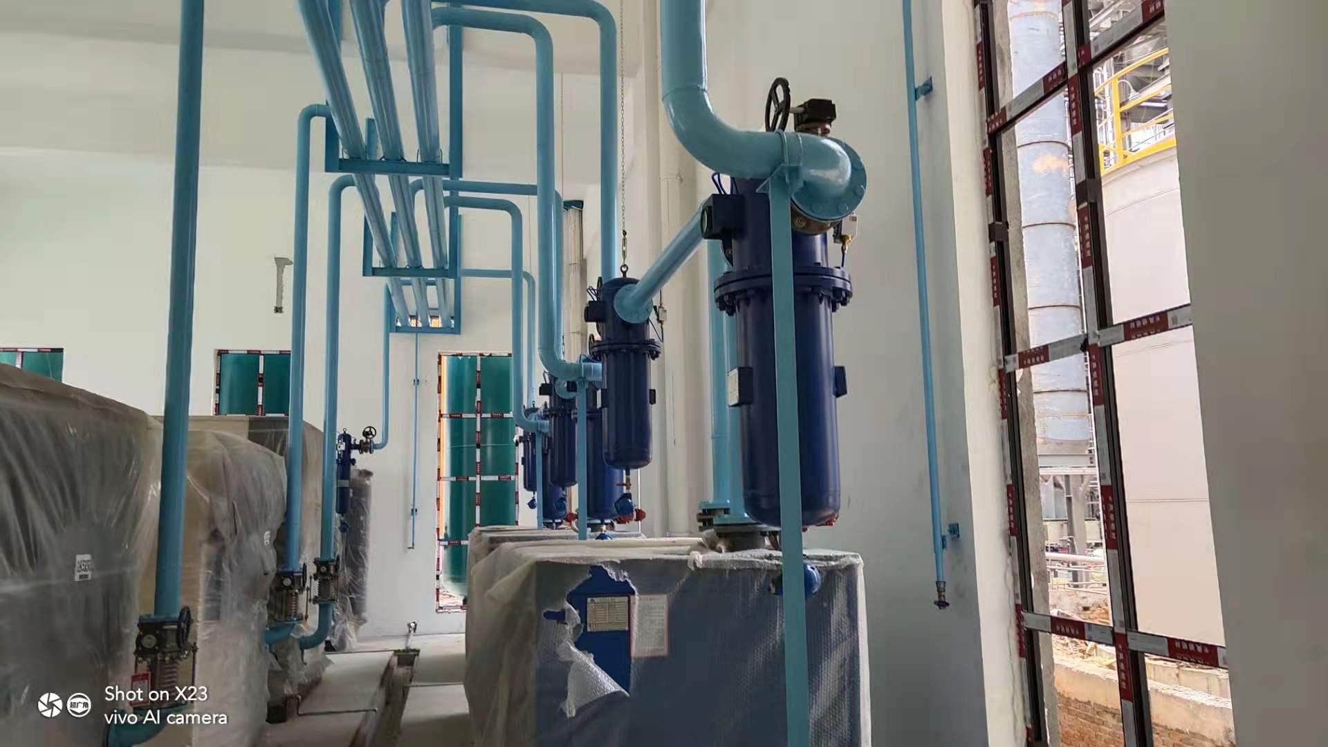 無縫鋼管氣體管道工程
