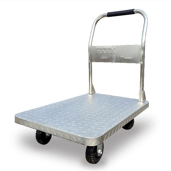 鍍鋅鋼板推車(可拆式扶手)FX-500