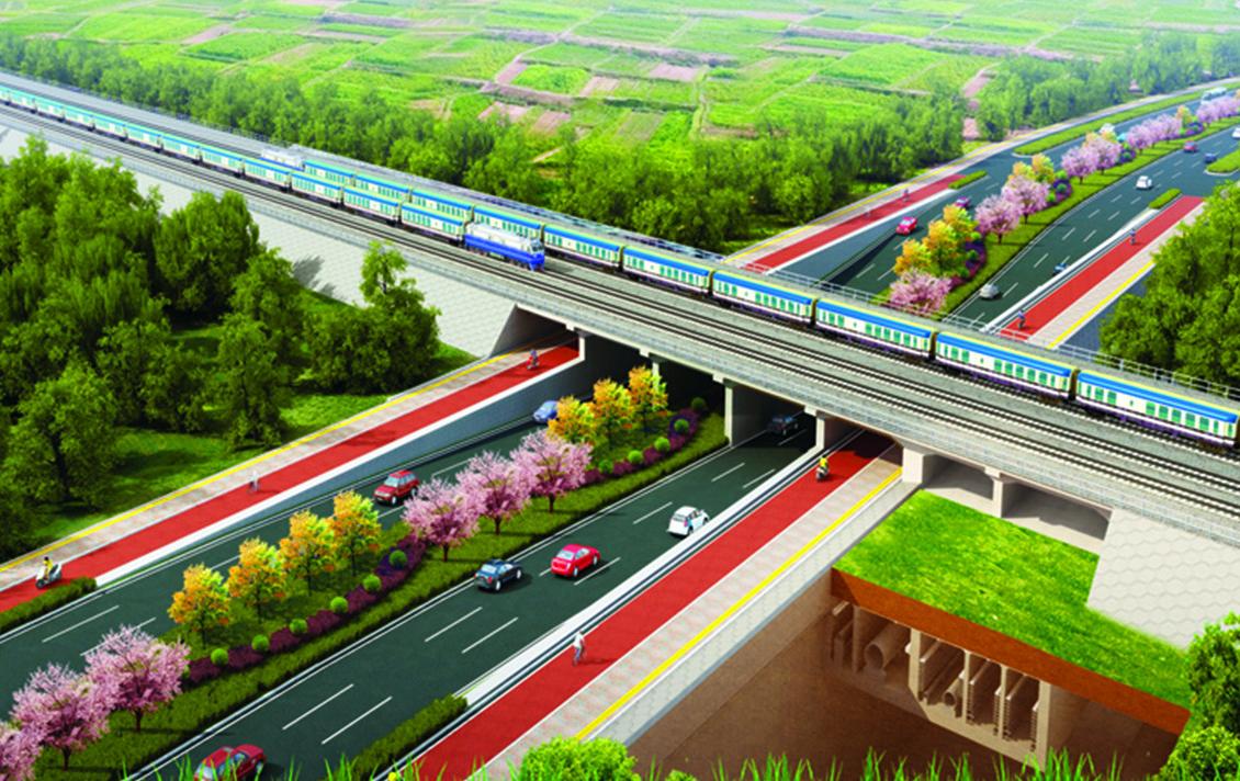 (首圖)大禮路(大廣高速~京臺高速)道路及綜合管廊工程(七標段)項目 (2)