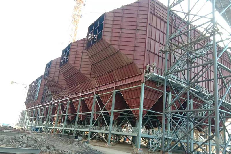 湖南永州2X1000MW低低溫電除塵器