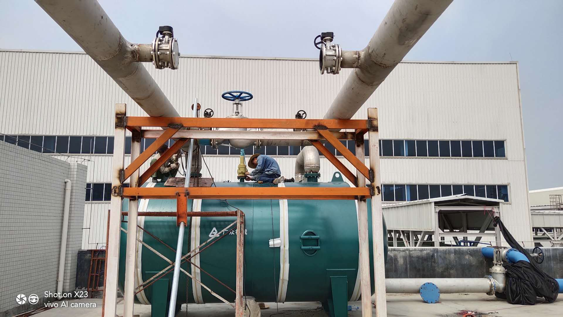 不銹鋼氣體管道工程
