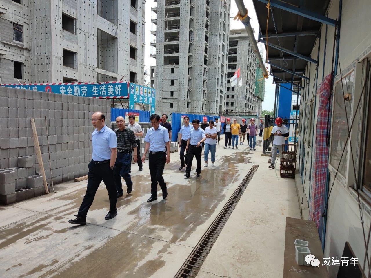 端午将至,集团公司莅临天津分公司检查慰问