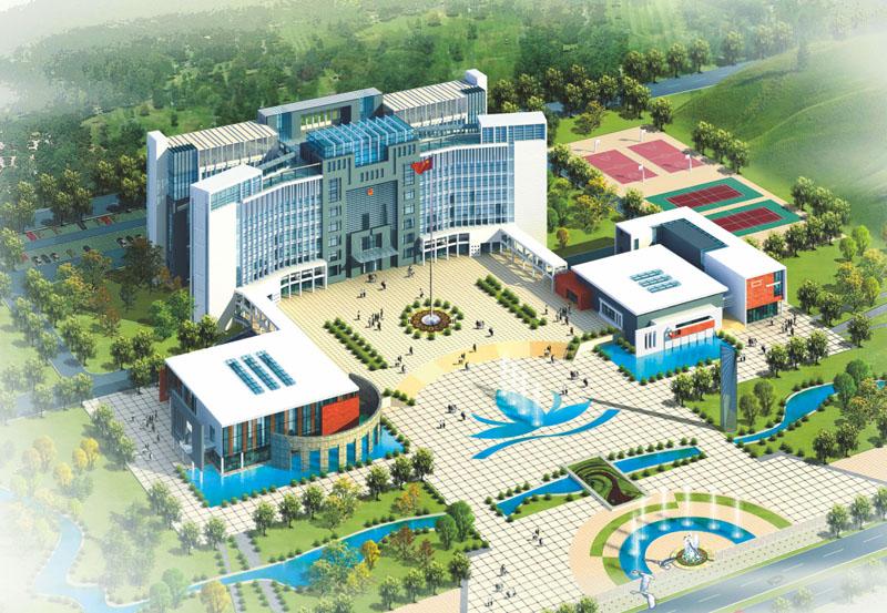 江西省贛州市石城縣城市政中心
